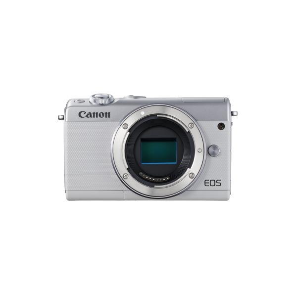 キヤノン デジタル一眼カメラ・ボディ EOS M100 ホワイト EOSM100WHBODY [EOSM100WHBODY]【RNH】