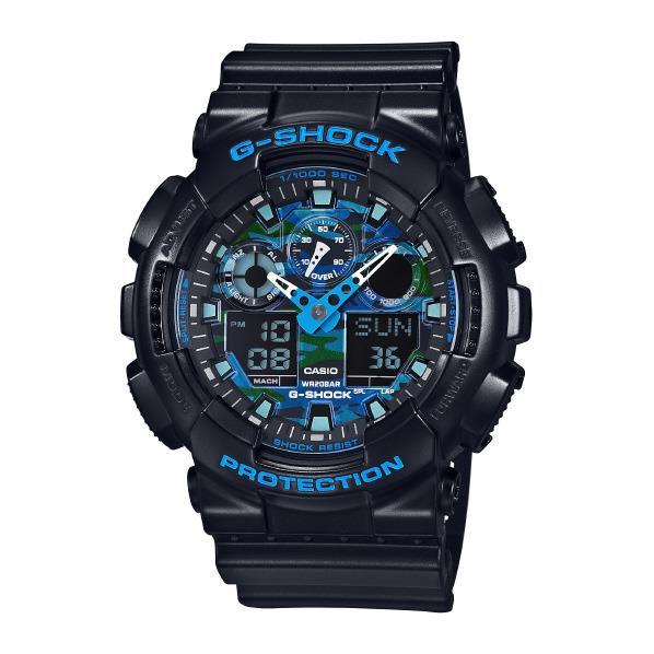 カシオ 腕時計 G-SHOCK ブルー GA-100CB-1AJF [GA100CB1AJF]