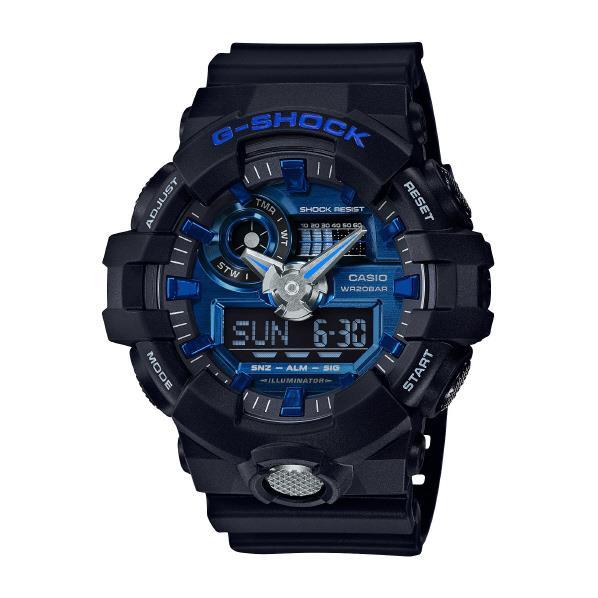 カシオ 腕時計 G-SHOCK ブルー GA-710-1A2JF [GA7101A2JF]