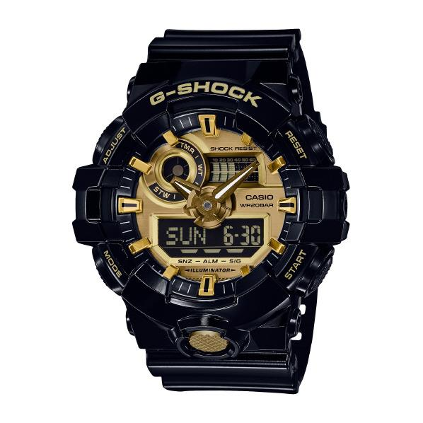 カシオ 腕時計 G-SHOCK ゴールド GA-710GB-1AJF [GA710GB1AJF]