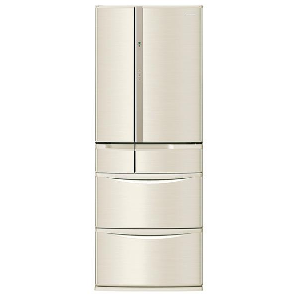 パナソニック 501L 6ドアノンフロン冷蔵庫 シャンパン NR-F503V-N [NRF503VN]【RNH】