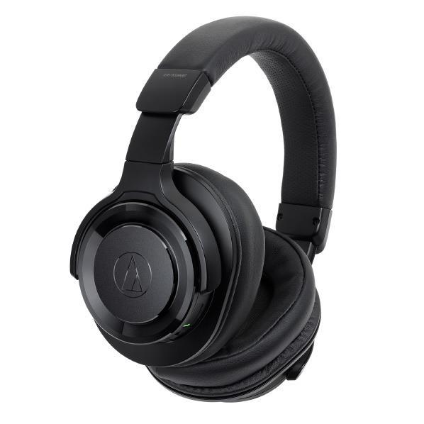 オーディオテクニカ ワイヤレスヘッドフォン SOLID BASS ブラック ATH-WS990BT BK [ATHWS990BTBK]【RNH】