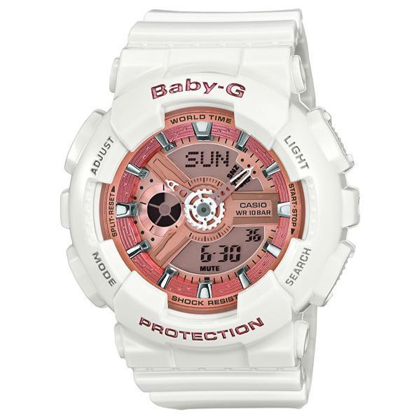 カシオ 腕時計 BABY-G ホワイト BA-110-7A1JF [BA1107A1JF]