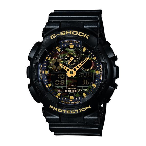 カシオ 腕時計 G-SHOCK ゴールド GA-100CF-1A9JF [GA100CF1A9JF]