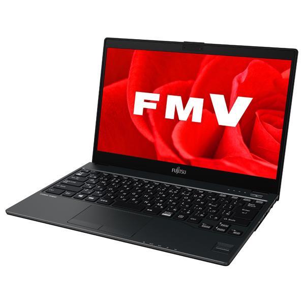 【送料無料】富士通 ノートパソコン LIFEBOOK ピクトブラック FMVU90B3B [FMVU90B3B]【RNH】