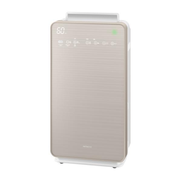 日立 加湿空気清浄機 自動おそうじ クリエア シャンパンゴールド EP-NVG110N [EPNVG110N]【RNH】