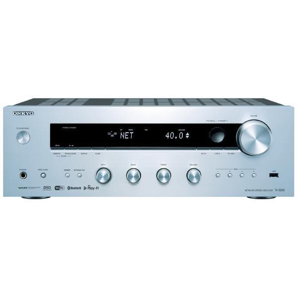 【あんしん延長保証対象】Wi-Fi  Bluetooth搭載、ハイレゾからレコードまで、幅広い音楽ソースを高品位に再生。 ONKYO ネットワークステレオレシーバー TX-8250(S) [TX8250S]【RNH】【SPSP】
