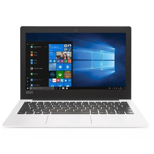 【送料無料】レノボ ノートパソコン Lenovo ideapad 120S ホワイト 81A400C9JP [81A400C9JP]【RNH】