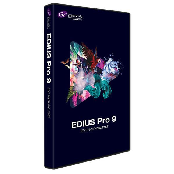 【送料無料】グラスバレー EDIUS Pro 9 通常版 EPR9-STR-JP EDIUSPRO9ツウWD [EDIUSPRO9ツウWD]
