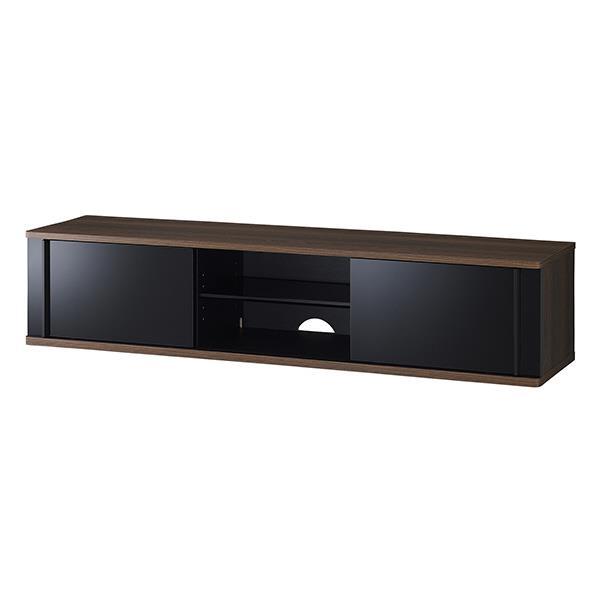 ハヤミ ~65V型まで対応 テレビ台 TIMEZ・SDseries ブラック TV-SD1550B [TVSD1550B]