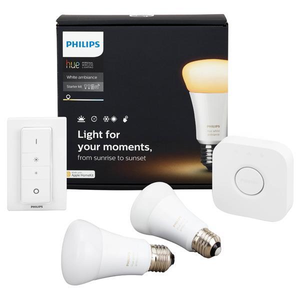 フィリップス LED電球 E26口金 全光束800lm(10W普通電球タイプ) 昼白色~電球色相当 hue PY47915L [PY47915L]