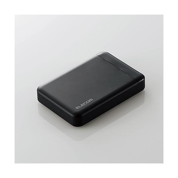 エレコム ビデオカメラ向けポータブルハードディスク ELP-EDV010UBK [ELPEDV010UBK]