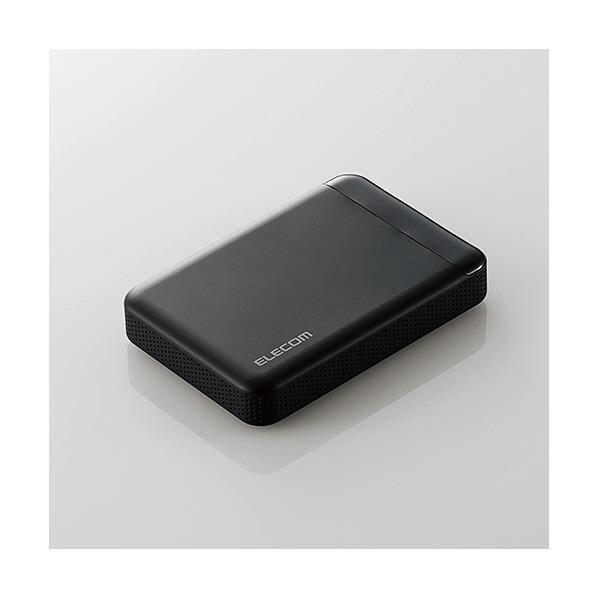 エレコム ビデオカメラ向けポータブルハードディスク ELP-EDV020UBK [ELPEDV020UBK]