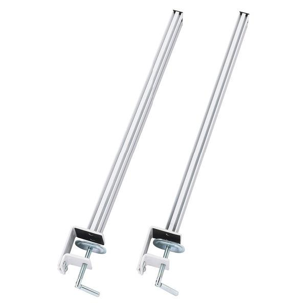 サンワサプライ 支柱2本セット(H700mm) ホワイト CR-HGCHF700W [CRHGCHF700W]