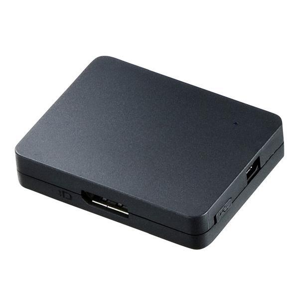 サンワサプライ DisplayPort MSTハブ(DisplayPort/HDMI/VGA) ブラック AD-MST3DPHDV [ADMST3DPHDV]