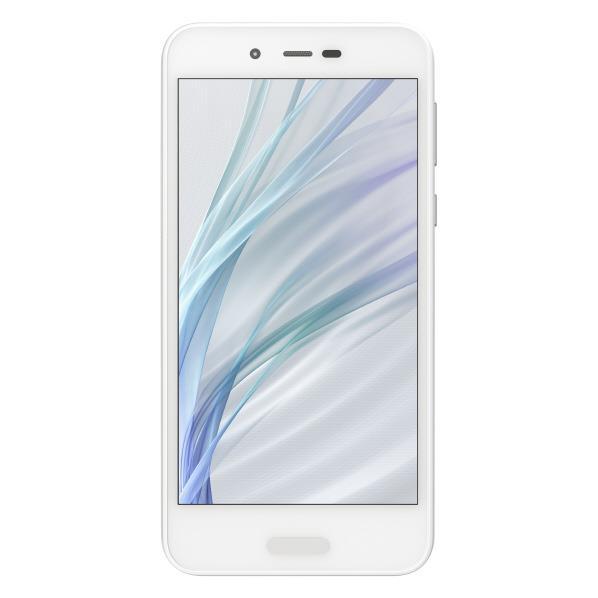 【送料無料】シャープ SIMフリースマートフォン AQUOS ホワイト SHM05W [SHM05W]