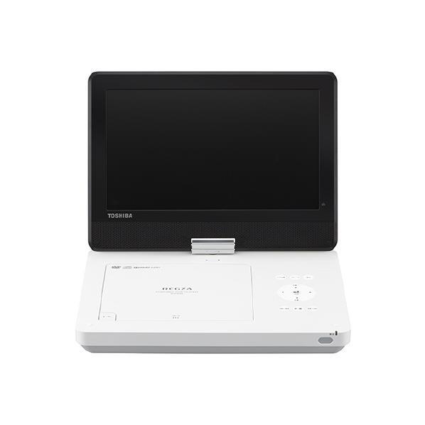 東芝 10.0Vノート型DVDポータブルプレイヤー レグザ ホワイト SD-P1010S [SDP1010S]【KK9N0D18P】【RNH】【SYBN】【OCFH】【MRPT】