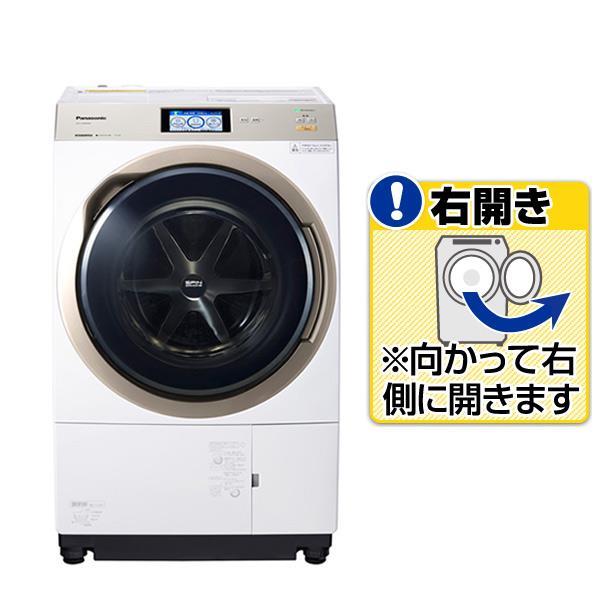 【送料無料】パナソニック 【右開き】11.0kgドラム式洗濯乾燥機 クリスタルホワイト NA-VX9800R-W [NAVX9800RW]【RNH】