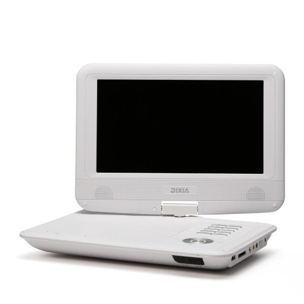 TOHO 9インチ フルセグ ポータブルDVDプレーヤー DIXIA ホワイト DX-PDV923FSW [DXPDV923FSW]