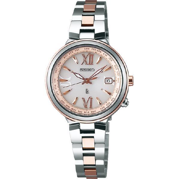 セイコーウォッチ ソーラー電波腕時計 ルキア(LUKIA) SSVV020 [SSVV020]