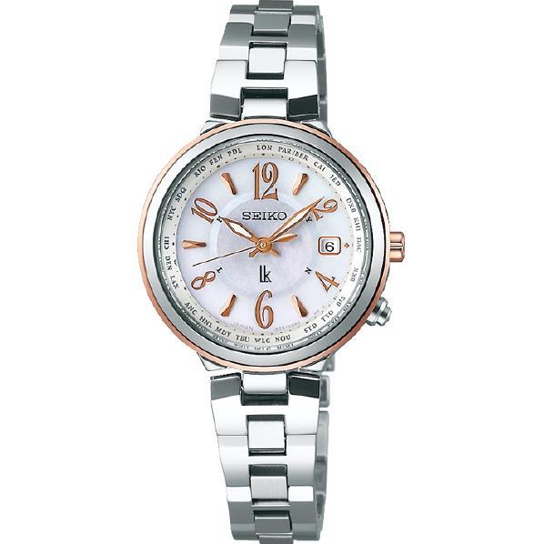 セイコーウォッチ ソーラー電波腕時計 ルキア(LUKIA) SSVV034 [SSVV034]