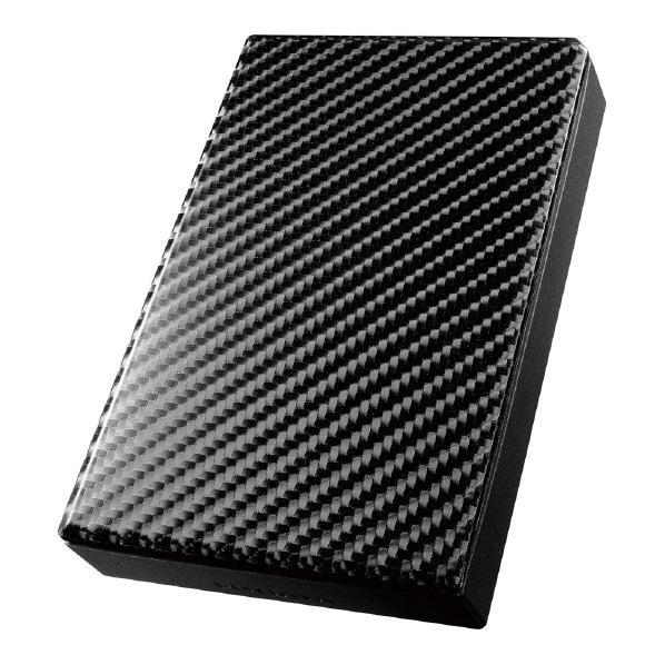 I・Oデータ USB 3.0/2.0対応ポータブルハードディスク(3TB) カーボンブラック HDPT-UT3DK [HDPTUT3DK]