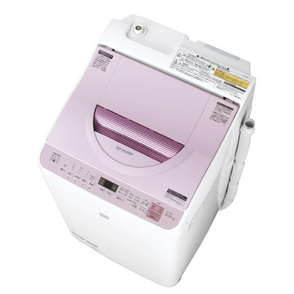 シャープ 5.5kg洗濯乾燥機 keyword キーワードピンク EST5E5KP [EST5E5KP]【RNH】
