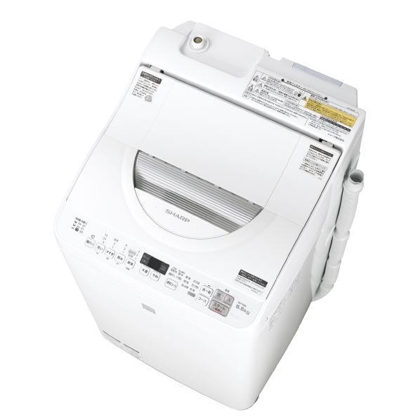 【送料無料】シャープ 5.5kg洗濯乾燥機 keyword キーワードホワイト EST5E5KW [EST5E5KW]【RNH】