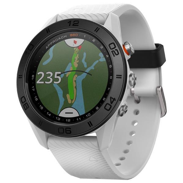 GARMIN GPSゴルフウォッチ Approach S60 ホワイト 010-01702-24 [0100170224]