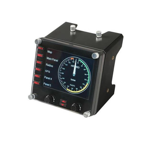 ロジクール プロマルチ計器液晶パネルシミュレーションコントローラー Logicool G Flight G-PF-INSP [GPFINSP]