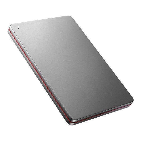 I・Oデータ USB 3.0/2.0対応ポータブルハードディスク(2TB) カクうす Black×Red HDPX-UTS2K [HDPXUTS2K]