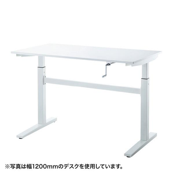 サンワサプライ 手動昇降デスク(W1000mm) ERD-SH10070W [ERDSH10070W]
