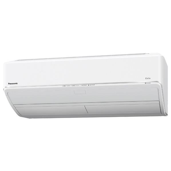【標準設置工事費込み】パナソニック 18畳向け 自動お掃除付き 冷暖房インバーターエアコン KuaL Eolia クリスタルホワイト CS56HV2E6WS [CS56HV2E6WS]【RNH】