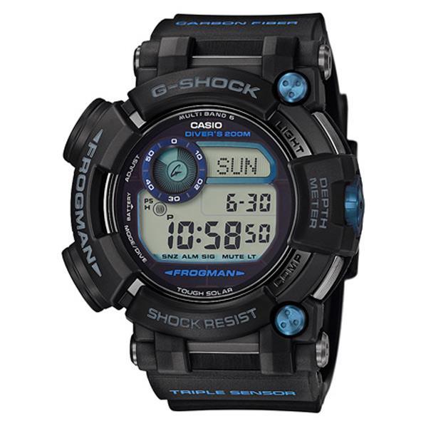 カシオ ソーラー電波腕時計 G-SHOCK FPOGMAN ブラック・ブルーの差し色 GWF-D1000B-1JF [GWFD1000B1JF]