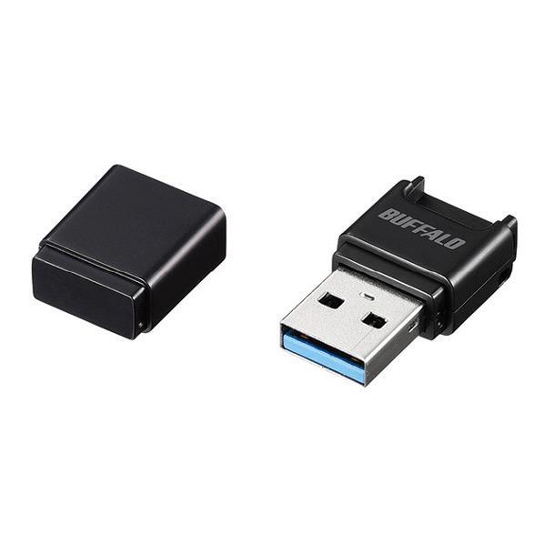 BUFFALO USB3.0 microSD専用コンパクトカードリーダー ブラック BSCRM100U3BK [BSCRM100U3BK]