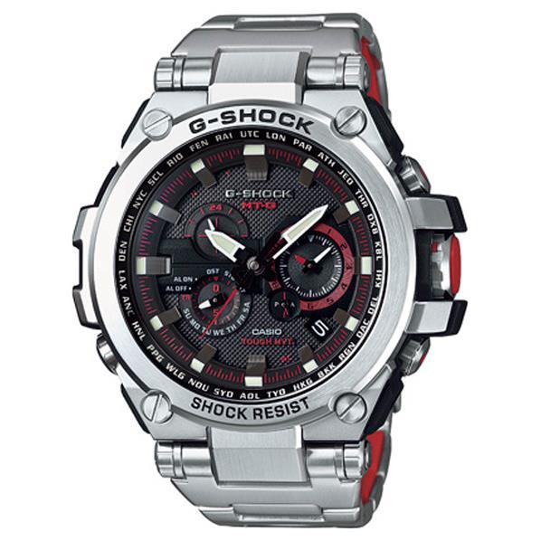 カシオ ソーラー電波腕時計 G-SHOCK MT-G ブラック MTG-S1000D-1A4JF [MTGS1000D1A4JF]