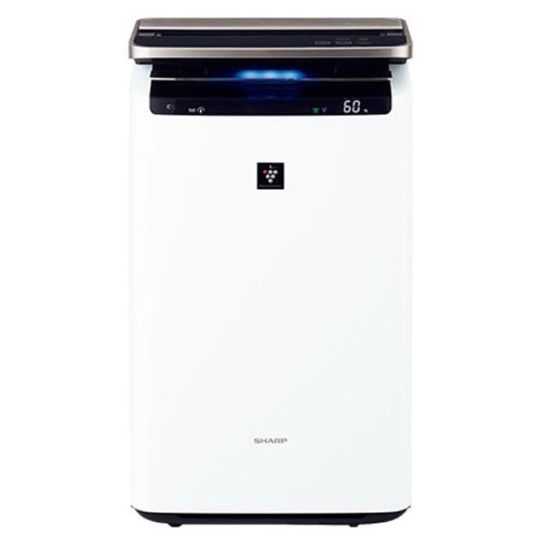 【送料無料】シャープ 加湿空気清浄機 プラズマクラスター ホワイト KIHP100W [KIHP100W]【RNH】