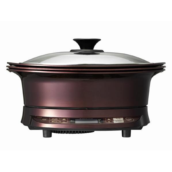 KOIZUMI IHグリル鍋 レッド KIH-1411/R [KIH1411R]【RNH】