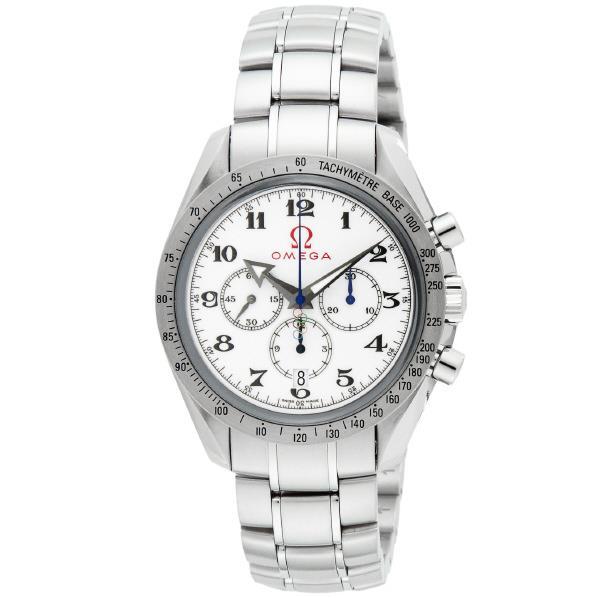 オメガ 腕時計 スピードマスター ホワイト 321.10.42.50.04.001 [32110425004001]