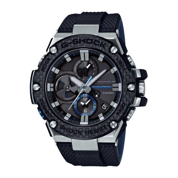 カシオ 腕時計 G-SHOCK G-STEEL ブラック GST-B100XA-1AJF [GSTB100XA1AJF]