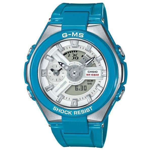 カシオ 腕時計 BABY-G G-MS ブルー MSG-400-2AJF [MSG4002AJF]