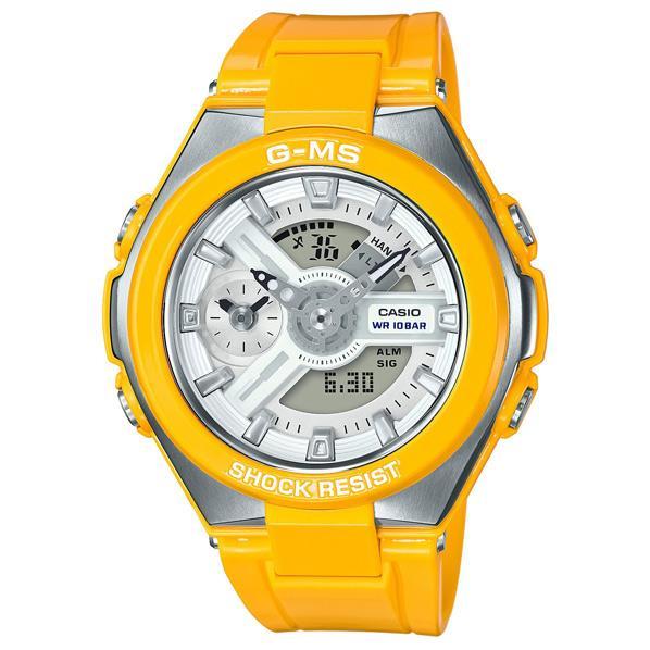 カシオ 腕時計 BABY-G G-MS イエロー MSG-400-9AJF [MSG4009AJF]