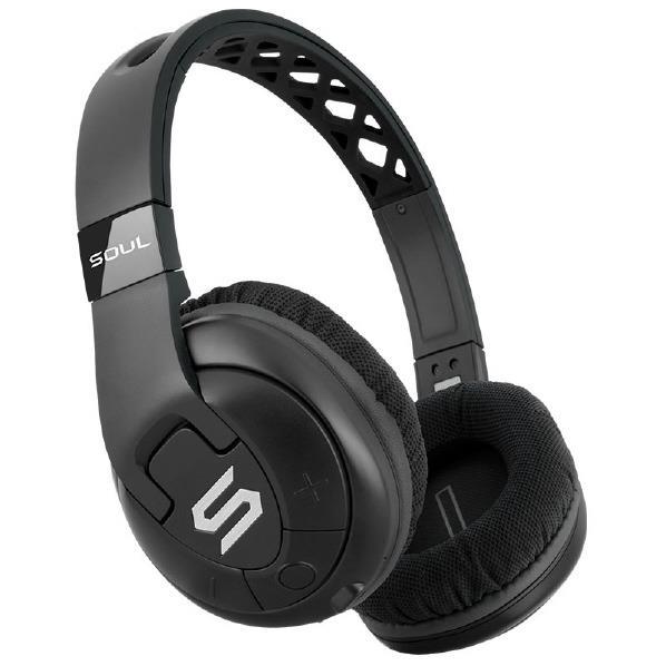 【送料無料】SOUL ワイヤレスヘッドフォン X-TRA BLACK SL-2501 [SL2501]