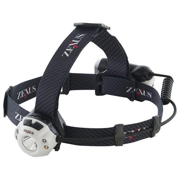 ZEXUS LEDヘッドライト 400lm 充電式 プロフェッショナルモデル ZXR350 [ZXR350]