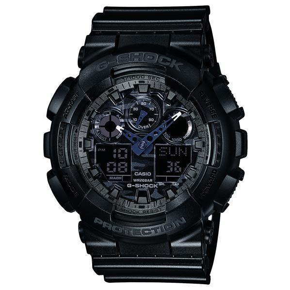 カシオ 腕時計 G-SHOCK ブラック GA-100CF-1AJF [GA100CF1AJF]