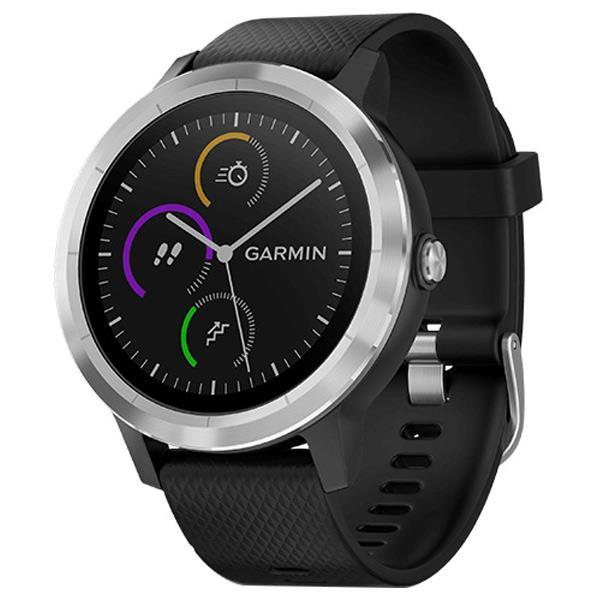 GARMIN GPSスマートウォッチ vivoactive 3 Black stainless 010-01769-70 [0100176970]