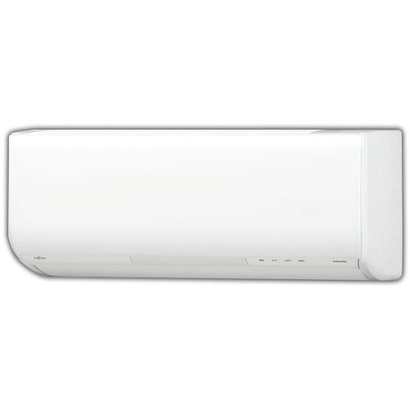 【標準設置工事費込み】富士通ゼネラル 6畳向け 自動お掃除付き 冷暖房インバーターエアコン ノクリア GNシリーズ ホワイト ASGN22HWS [ASGN22HWS]【RNH】