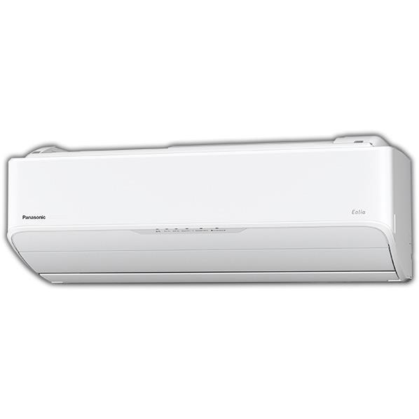 【標準設置工事費込み】パナソニック 20畳向け 自動お掃除付き 冷暖房インバーターエアコン KuaL クリスタルホワイト CS63HA2E6WS [CS63HA2E6WS]【RNH】