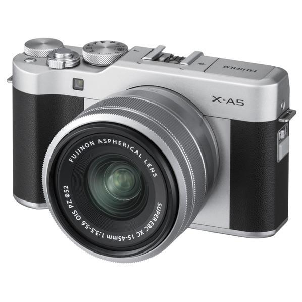 富士フイルム デジタル一眼カメラ・レンズキット X-A5 シルバー FXA5LKS [FXA5LKS]【RNH】