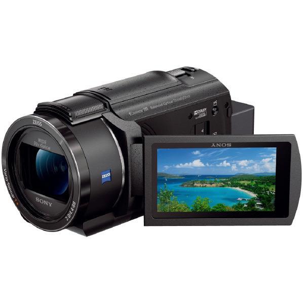 SONY 64GB内蔵メモリー デジタル4Kビデオカメラ ハンディカム ブラック FDR-AX45 B [FDRAX45B]【RNH】